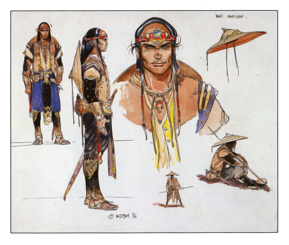 Moebius concept art for Willow